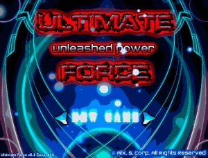 "Вышло демо""Ultimate Force - Unleashed Power""!"